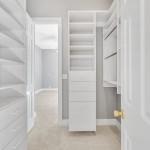 Secondary Bedroom Custom Closet