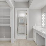 Secondary Bedroom Closet & Bathroom