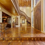 Grand Foyer Surrounded by Custom Detail