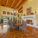 Enjoy The Dining Room & Pool Views