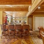Custom Bar Next To The Intimate Living Room