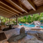 Covered Patio To Enjoy The Resort Style Yard