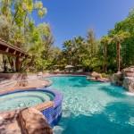 Refreshing Resort Style Pool, Spa & Waterfalls